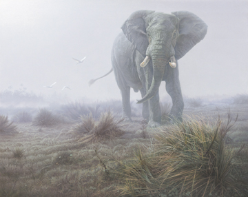 "Daniel Smith Limited Edition Print:""Denizen of the Mist """