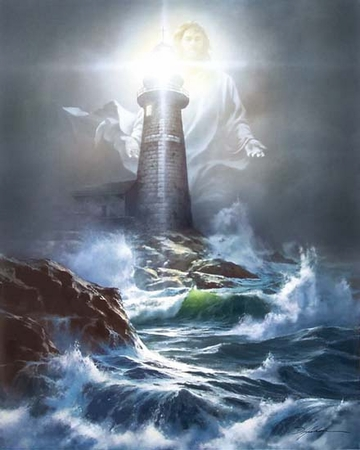"""Danny Hahlbohm Handsigned & Numbered Limited Edition Print:""""The Lord is My Light"""""""