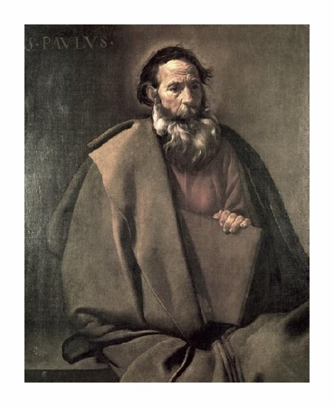 "Diego Velazquez Fine Art Open Edition Giclée:""Saint Paul"""