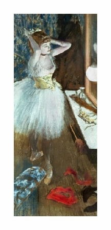 "Edgar Degas Fine Art Open Edition Giclée:""Dancer in Her Dressing Room"""