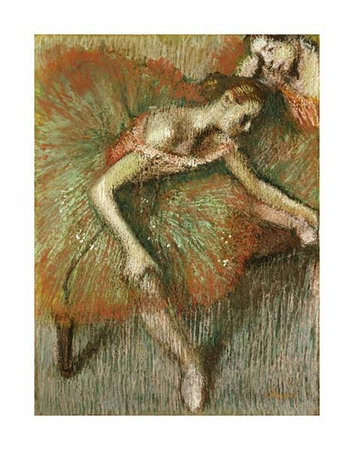 "Edgar Degas Fine Art Open Edition Giclée:""Dancers"""