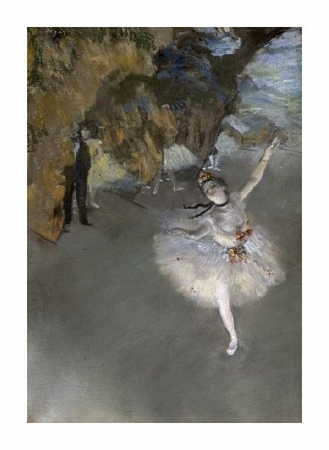 "Edgar Degas Fine Art Open Edition Giclée:""The Star"""