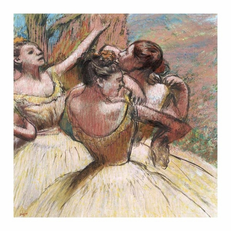 "Edgar Degas Fine Art Open Edition Giclée:""Three Dancers"""