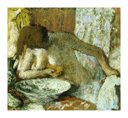 "Edgar Degas Fine Art Open Edition Giclée:""Woman at Her Toilet"""