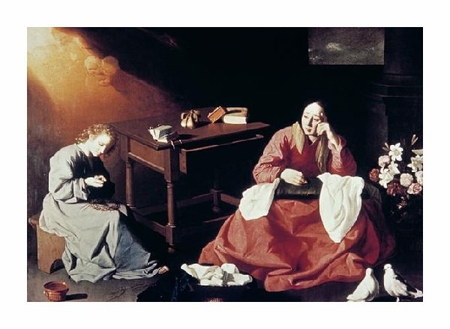 "Francisco De Zurbaran Fine Art Open Edition Giclée:""Holy House of Nazareth"""