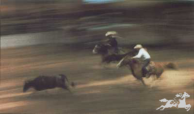 "Gary Rumack Hand Signed and Numbered Limited Edition Lithograph On Paper ""Rodeo'n"""