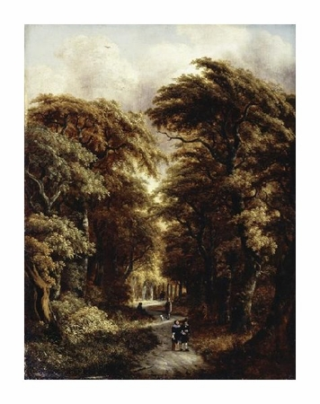 "Gillis Rombouts Fine Art Open Edition Giclée:""In the Forest"""