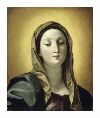 "Guido Reni Fine Art Open Edition Giclée:""Madonna"""