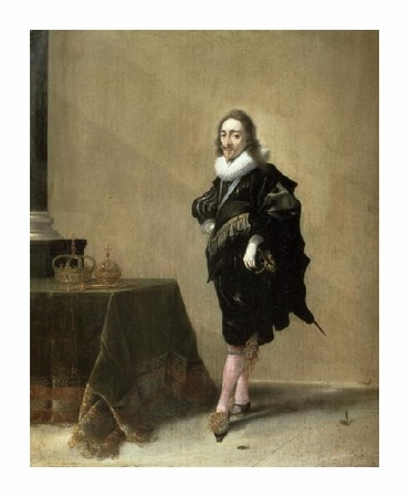 "Hendrik Gerritsz Pot Fine Art Open Edition Giclée:""Charles I, King of England"""