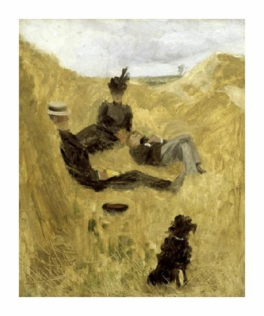 "Henri Toulouse-Lautrec Fine Art Open Edition Giclée:""Party in the Country"""