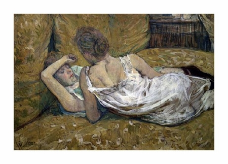"Henri Toulouse-Lautrec Fine Art Open Edition Giclée:""Two Friends"""
