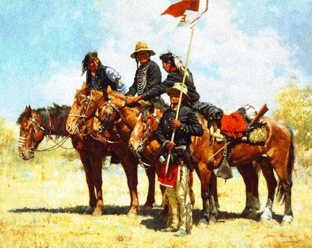 """Howard Terpning Limited Edition Print:""""Army Regulations"""""""