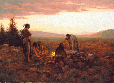 "Howard Terpning Limited Edition Print: ""To Capture Enemy Horses """