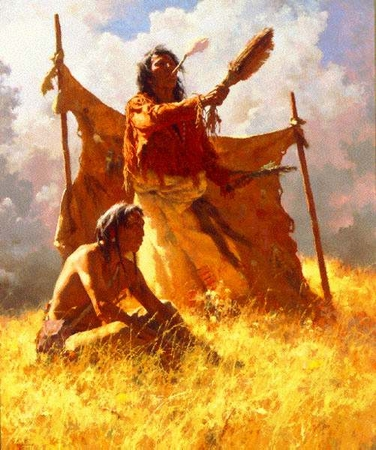 "Howard Terpning Limited Edition Print: ""Weather Dancer Dream """