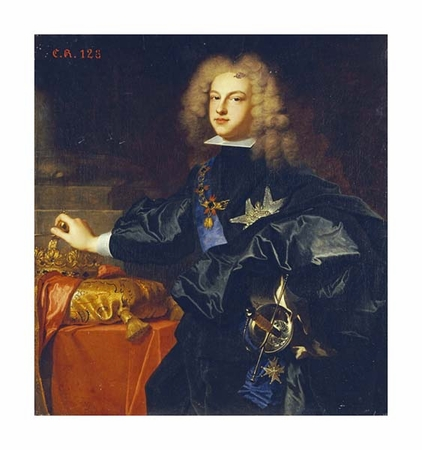 "Hyacinthe Rigauld Fine Art Open Edition Giclée:""Portrait of King Philip V of Spain"""