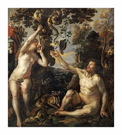 "Jacob Jordaens Fine Art Open Edition Giclée:""The Temptation"""