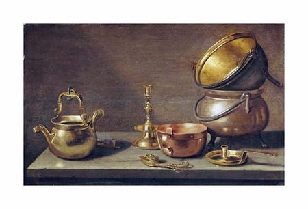 "Jacob Willemsz Delff Fine Art Open Edition Giclée:""A Still Life of Kitchenware"""