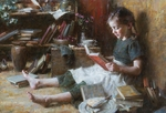 """Morgan Weistling Limited Edition Canvas Giclee:""""In Her World"""""""
