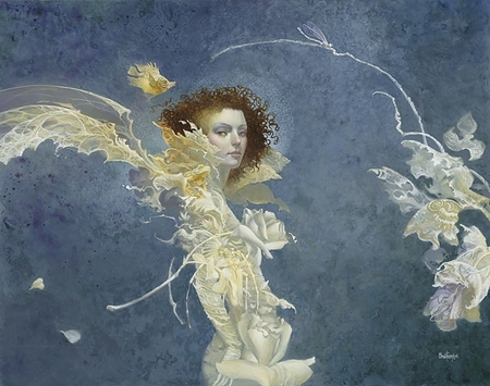 "James Christensen Handsigned and Numbered Limited Edition :""Fiona"""
