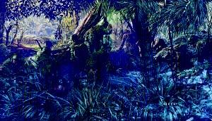"""James Dietz Hand Signed and Numbered Limited Edition: """"Jungleers"""""""