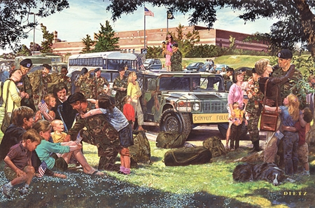 """James Dietz Hand Signed and Numbered Limited Edition Print:""""Freedom Isn't Free"""""""