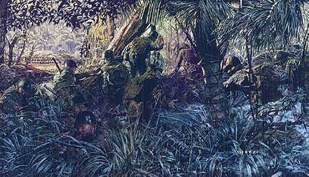 """James Dietz Handsigned and Numbered Limited Edition Artist Proof Print:""""Jungleers"""""""