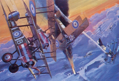 """James Dietz Handsigned and Numbered Limited Edition Print:""""Two for B Flight- Sold Out"""""""