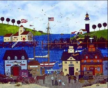 "Jane Wooster Scott Limited Edition Print:""The Maine Attraction """