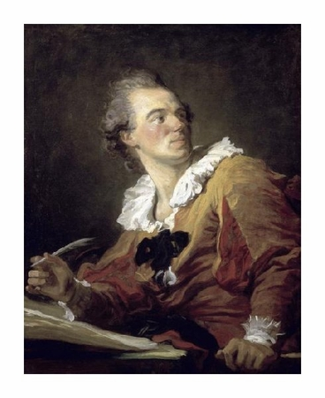 "Jean Honore Fragonard Fine Art Open Edition Giclée:""Inspiration"""
