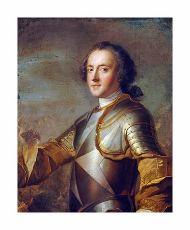 "Jean-Marc Nattier Fine Art Open Edition Giclée:""Jean-Philippe D'Orleans, Grand Prieur de France"""