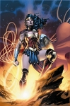 """Jim Lee Hand Signed and Numbered Limited Edition Gicleé on Fine Art Paper and Canvas:""""Wonder Woman - Goddess of Truth"""""""