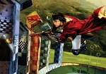"""Jim Salvati Harry Potter Canvas Giclee Artist Proof Co-Signed By Daniel Radcliffe:""""Harry & The Golden Snitch"""""""