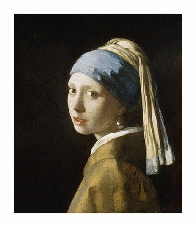 "Johannes Vermeer Fine Art Open Edition Giclée:""Girl with the Pearl Earring"""