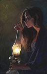 """John Buxton Hand Signed and Numbered Limited Edition Canvas Giclee:""""First Breath of Dawn"""""""