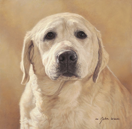 """John Weiss Limited Edition Print:""""Maggie: Portrait Of A Friend"""""""