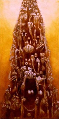 "Kadir Nelson Hand signed Limited Edition Print :""Stairway to Heaven"""