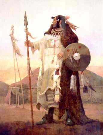 """Kenneth Riley Limited Edition Print:""""Legends Of The Mandan"""""""