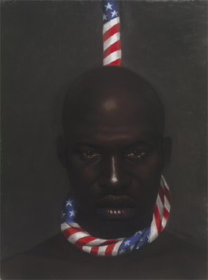"Laurie Cooper Limited Edition Signed Ed. 1200:""Black Man in America"""