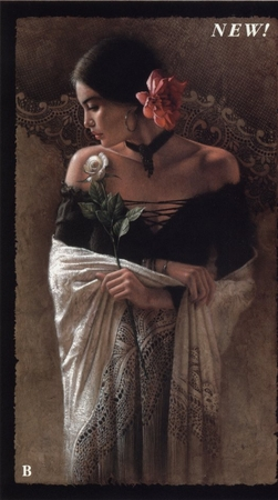 "Lee Bogle Handsigned and Numbered Limited Edition Print:""Latin Lace"""