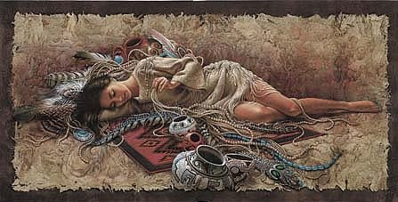 "Lee Bogle Handsigned and Numbered Limited Edition Print:""Memories of the Past"""