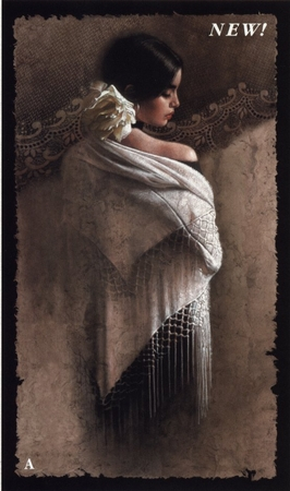 "Lee Bogle Handsigned and Numbered Limited Edition Print:""The White Shawl"""