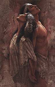 "Lee Bogle Handsigned & Numbered Limited Edition  Canvas Giclee:""Eternal Soul Mates III"""