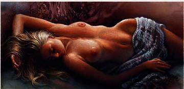 """Lee Bogle Limited Edition Print:""""Of Light and Lace"""""""