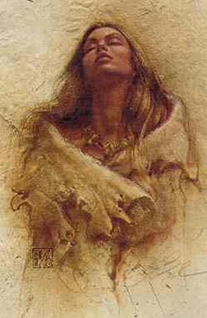 """Lee Bogle Open Edition Print: """"Stirring Thoughts"""""""