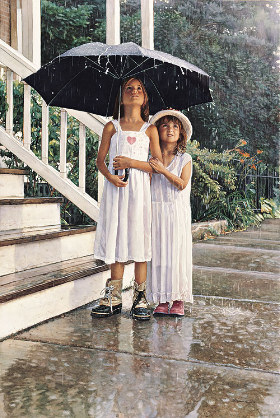 """Limited Edition Print: """"Shelter For The Heart"""" By Steve Hanks"""