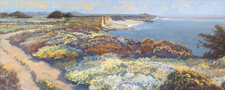 "Lois Johnson Signed and Numbered Limited Edition Giclée on Museo Paper:""North Coast I"""