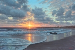 """Mark Keathley Hand Signed and Numbered Limited Edition Embellished Canvas Giclee:""""His Mercies Are New"""""""