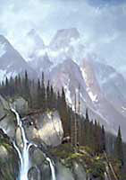 "Michael Coleman Handsigned & Numbered Giclee Limited Edition Print:""Mountain Majesty-Grizzly"""