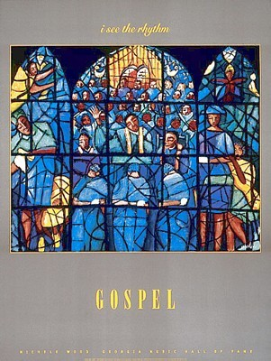 "Michelle Wood Open Edition Poster:""Gospel"""