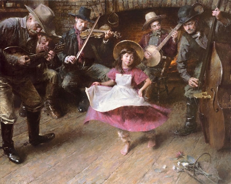 """Morgan Weistling Hand Signed and Numbered Fine Art  Giclee Print:""""The Dance"""""""